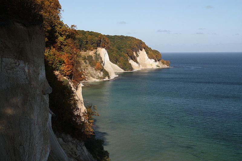 Остров Рюген, меловые скалы