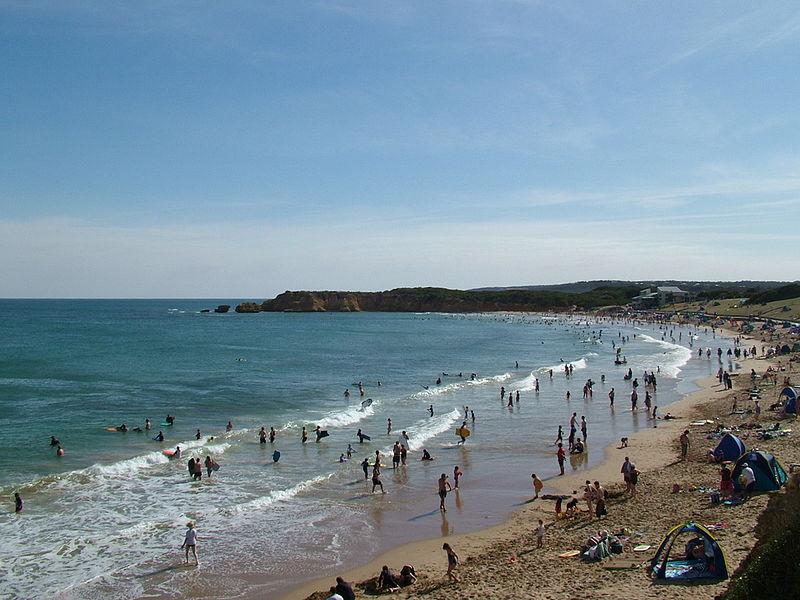 пляж в Торки
