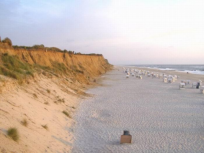 Остров Зюльт, пляж, фото jkb / Wikimedia Commons