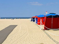 Довиль, пляж, фото Dennis Jarvis / Flickr