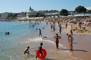 Пляж в Эшториле