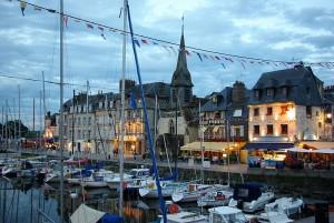 Старый порт Онфлёра, Vieux-Bassin,фото Pierre Noel