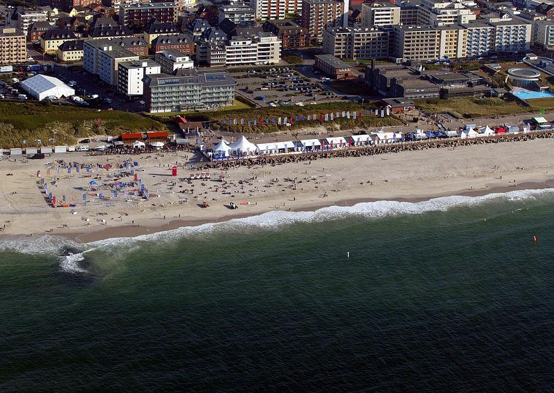 Зюльт, пляж