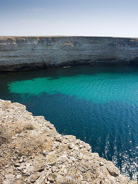 Полуостров Тарханкут и море