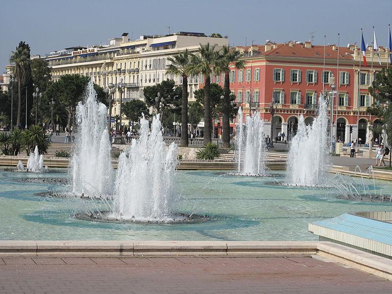 Ницца, фонтаны