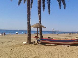 Эстепона, пляж, фото Turista Inglesa