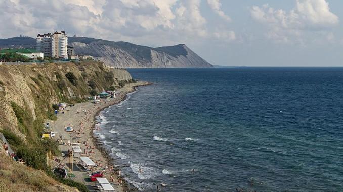 Анапа, пляж Высокий Берег