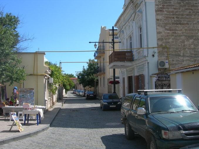 Старый город Евпатории в мае