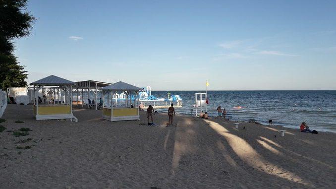Евпатория, пляж