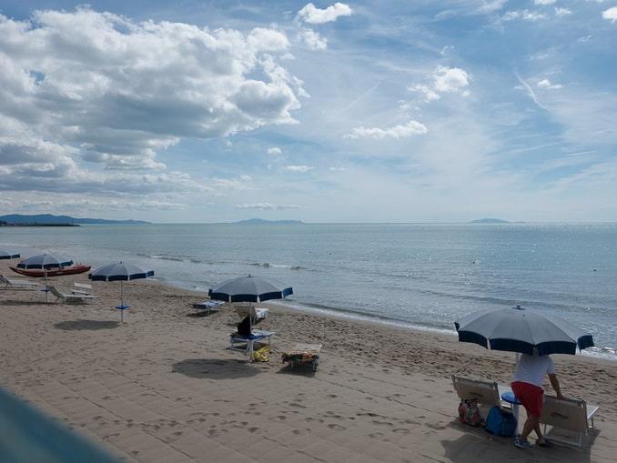 Пляж в Маремма, Италия