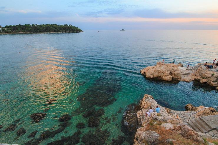 Вода в Адриатическом море, Ровинь