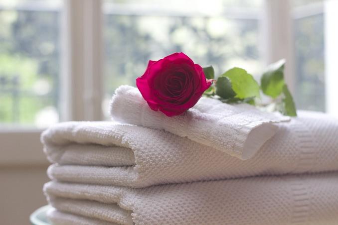 Отель, полотенца