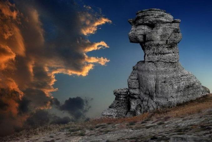 """Долина Приведений"" на плато Демерджи под Алушой"