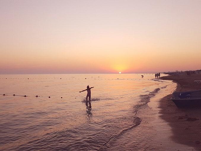 На море в Джемете