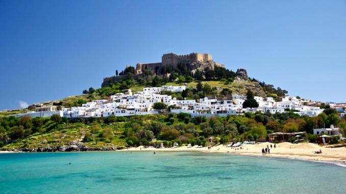 Линдос, остров Родоc, CC0 Creative Commons, pixabay.com