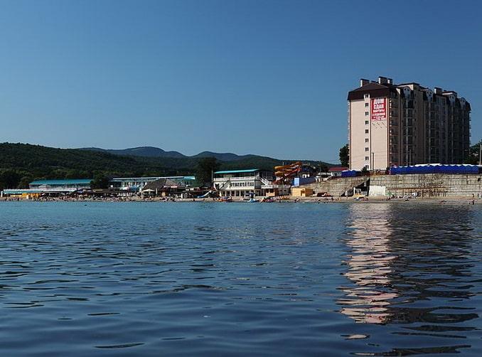 Джубга, пляж,, фото Nikolay Sizonenko