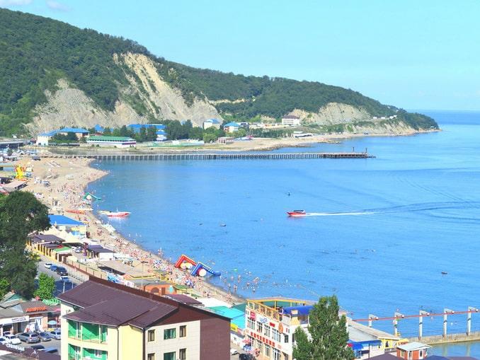 Лермонтово, пляж, отельвлермонтово.рф