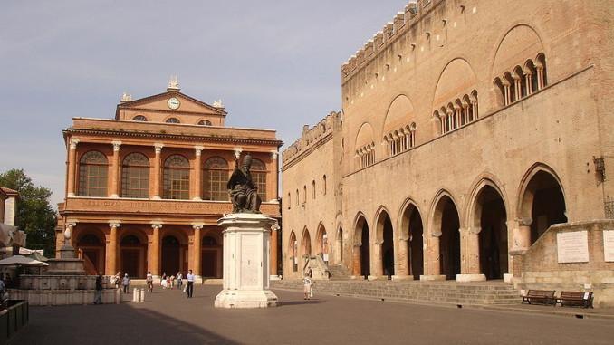 Пьяцца Кавур, Римини