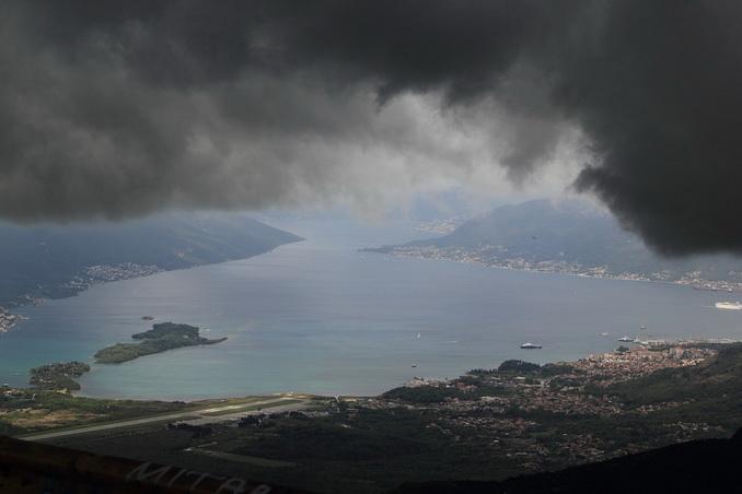 Которский залив перед бурей