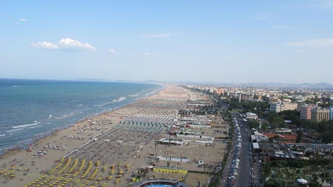 Римини, пляжи