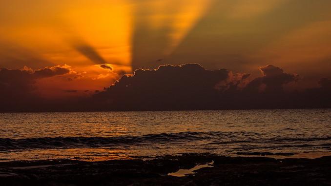Кипр, закат