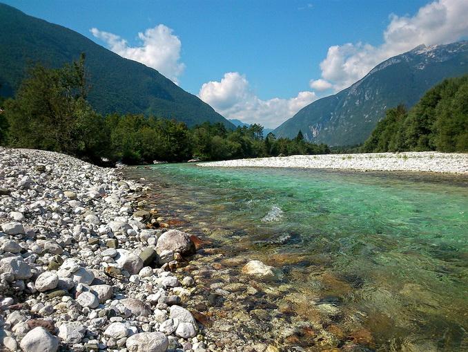 Река, Сочи