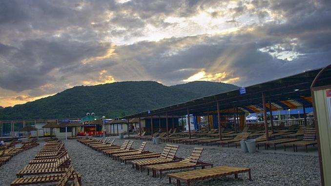 Архипо-Осиповка, пляж, фото