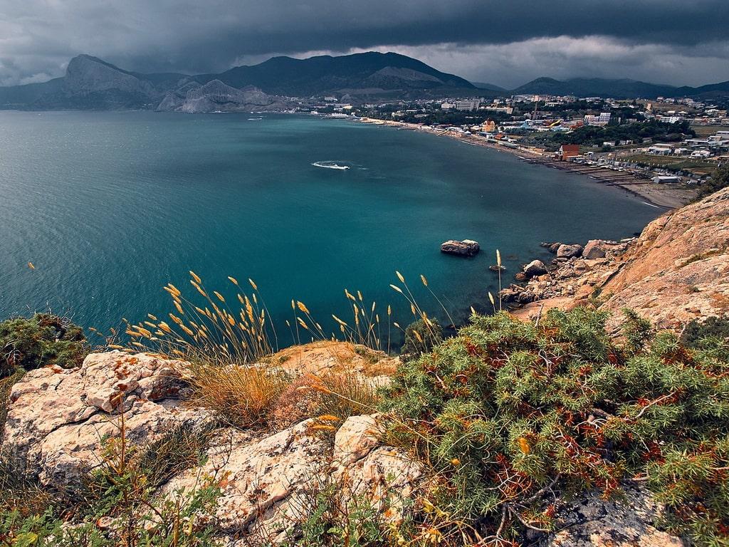 Черное море горы фото