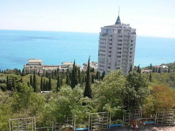 Южный берег Крыма, отель