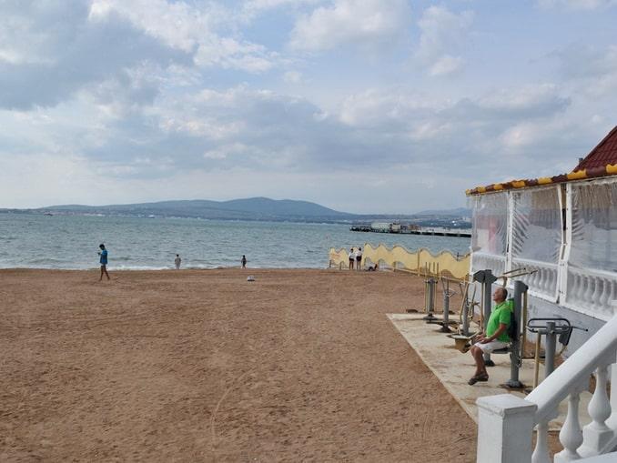 Геленджик, пляж