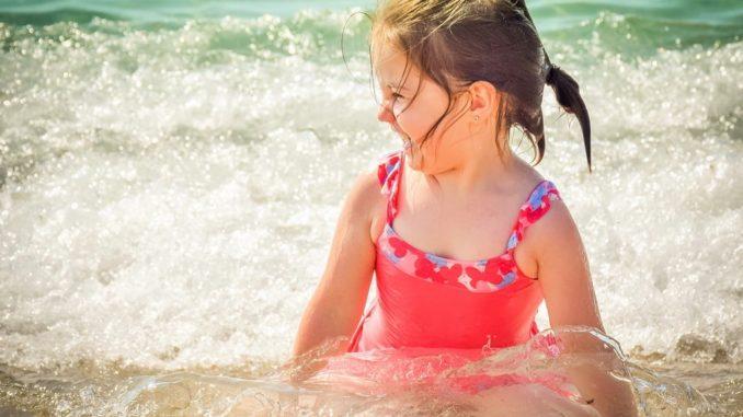 Ребенок на море, Крым
