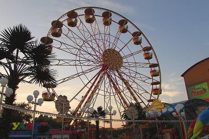 Парк развлечений в Анапе