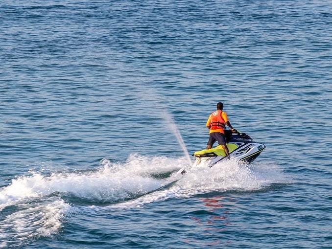 Гидроцикл в Крыму