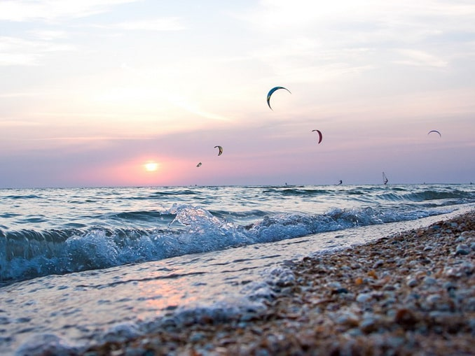 Паруса и парашюты - отдых на Азовском море