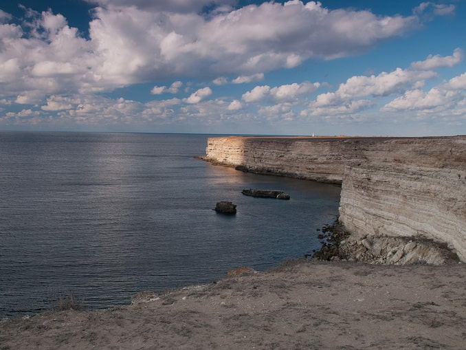 Мыс Тарханкут Крым