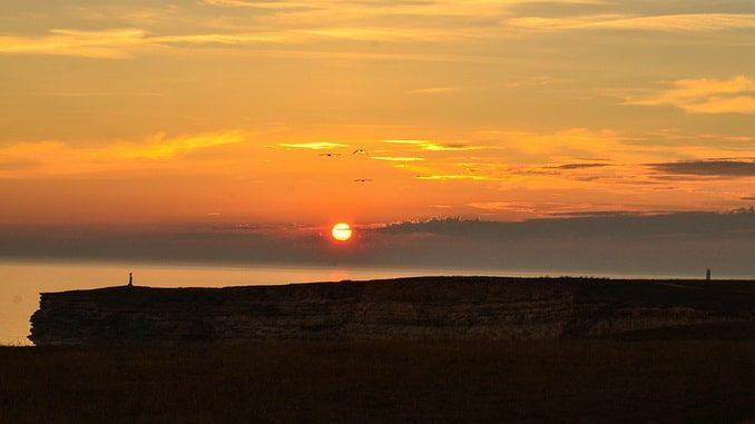 Оленевка, Тарханкут, закат