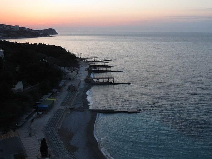 Побережье в Кореизе, Крым