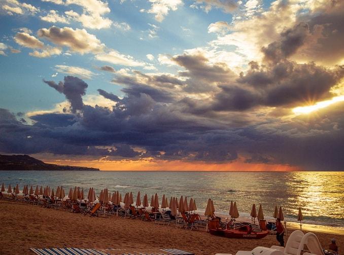 Пляж в Калабрии, Италия