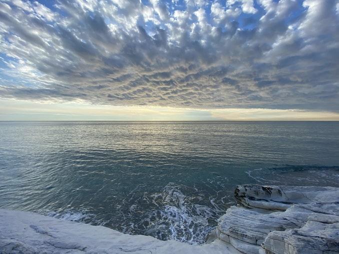 Зимнее море, Абхазия