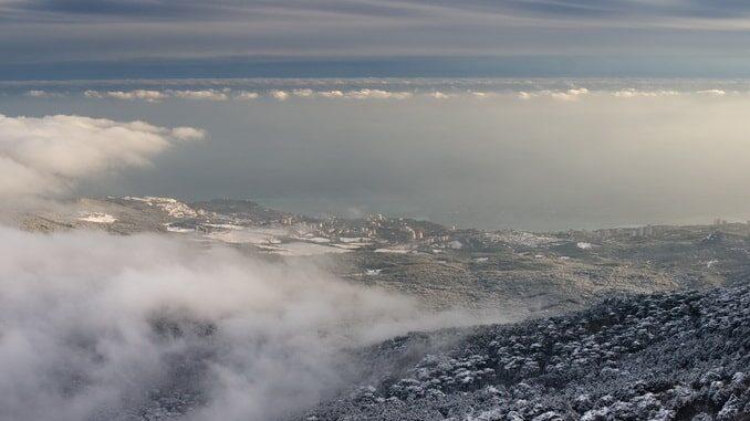 Гаспра, Крым, январь, фото фото Dmitry A. Mottl