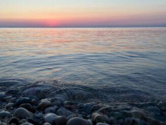Крым, декабрь, Черное море
