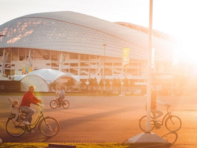 На велосипедах по Сочи