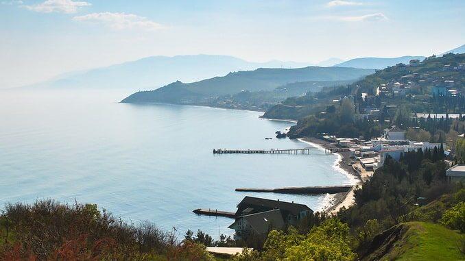 Южный берег Крыма, Черное море