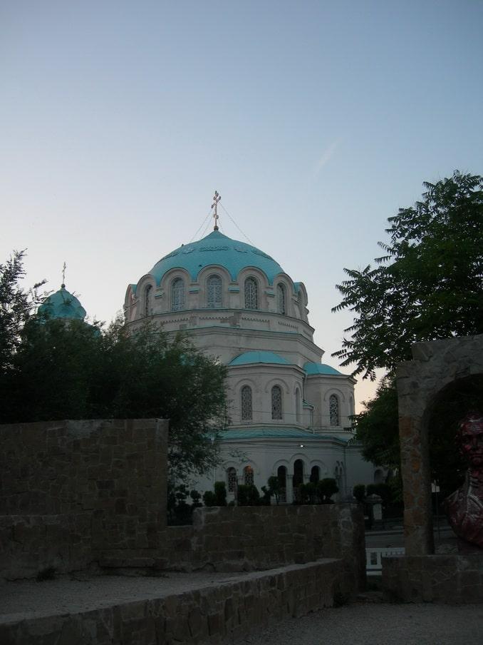 Свято-Николаевский собор,, Евпатория, май