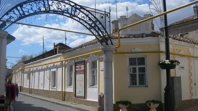 Старый город - Евпатория в сентябре