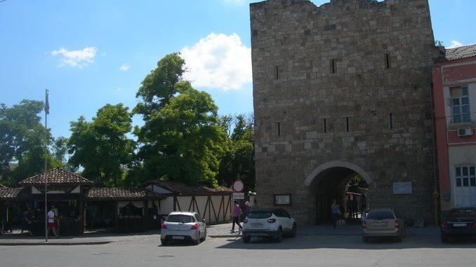 Старый город в Евпатории в августе