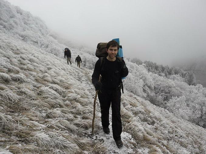 Походы по Крыму зимой вполне возможны, фото В.С.Білецький