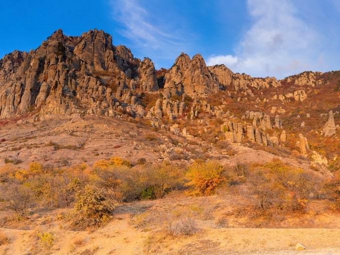 Долина Привидений - природа под Ялтой начале ноября невероятно красива