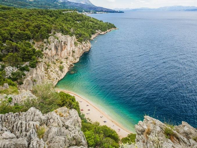 Нугал - где отдохнуть в Хорватии на море нудистам
